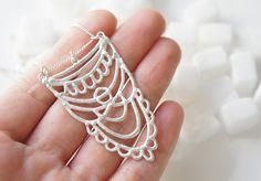SUKKAR Silver Necklace  Moroccan Sugar Collection  by gemagenta, €138.00 *magic*