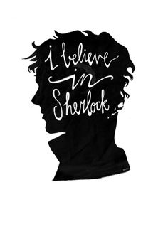 """The Reichenbach falls"" was one of the most magnificent 90 minutes of film or tv I have ever seen. It's going to be a long wait...in the meantime, this silhouette of Sherlock's curly mane is keep me happy."