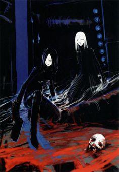 Miki and Dree again Manga Art, Manga Anime, Manga Books, Blame Manga, Posters Australia, Art Folder, Mystique, Weird Art, Manga Illustration