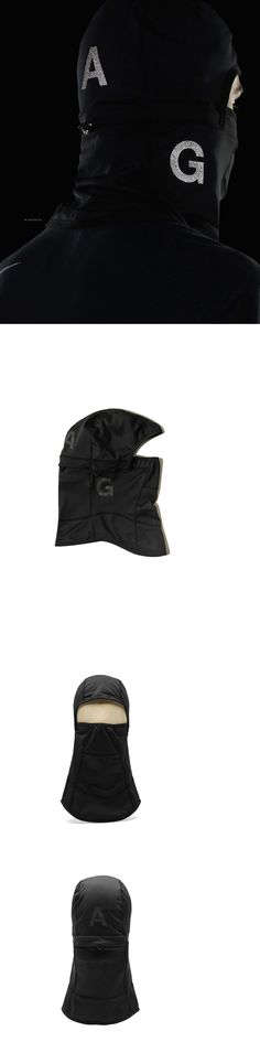 Hats and Headwear 159035: Nike Nikelab Acg Balaclava Black One Size Dover Street Limited Outdoors New -> BUY IT NOW ONLY: $64.95 on eBay!
