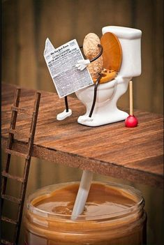 This is how peanut butter is made...:p