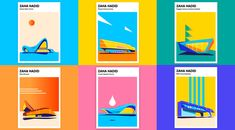 Young graphic designer and illustrator from Saint Petersburg, Anastasia Bakusheva paid tribute to the legendary architect, Zaha Hadid, who passed away in 2016. Anastasia Bakusheva has created a poster series featuring 7 buildings designed by Zaha Hadid. The poster series celebrates Zaha Hadid's distinctive style of deconstructionism. Using a colorful minimalist style of simple graphic …