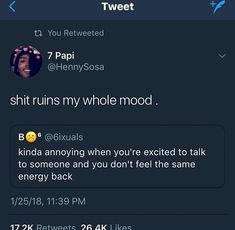 Ok I relate. I always absorb energy and this is so disappointing in particular