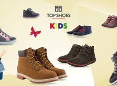 Ένα κοριτσάκι και ένα αγοράκι κερδίζουν τα παιδικά παπούτσια της αρεσκείας τους από το Topshoes.gr   InfoKids