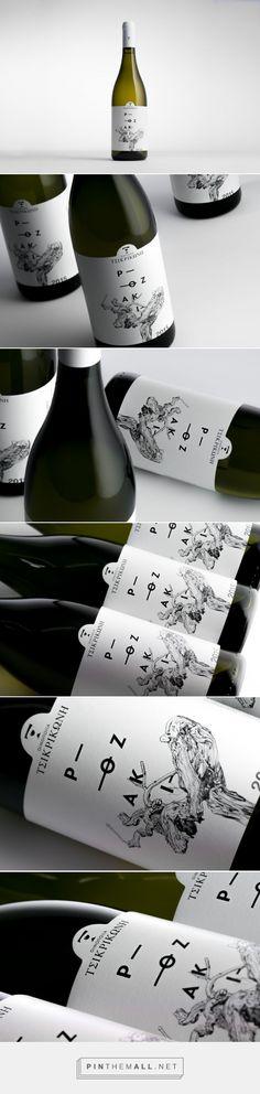 Rozaki Wine - Packaging of the World - Creative Package Design Gallery - http://www.packagingoftheworld.com/2016/12/rozaki.html