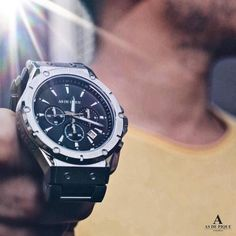 Shine with the AS DE PIQUE Master watch !