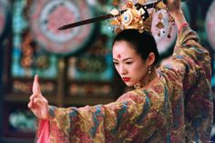 The House of Flying Daggers (2004). During the reign of the Tang dynasty in China, a secret organization (The House...) rises and opposes the government. A police officer called Leo sends officer Jin to investigate a young dancer named Mei, claiming that she has ties to the organization. Leo arrests Mei, only to have Jin breaking her free in a plot to gain her trust and lead the police to the new leader of the secret organization. But things are far more complicated than they seem...