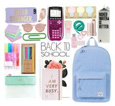 Designer Clothes, Shoes & Bags for Women School Notes, I School, School Bags, School Stuff, Backpack Essentials, School Essentials, Travel Essentials, School Backpack Organization, Teen School Supplies