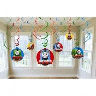 Thomas the Train Tank Engine Thomas and Friends Party Foil Hanging Swirl Decorations Spiral Ornaments 12 PCS Party Supply Party Decorations ** Visit the image link more details. Thomas Birthday Parties, Boy Birthday, Birthday Ideas, Golden Birthday, Third Birthday, Birthday Celebration, Birthday Cakes, Fun Games For Kids, Kid Games