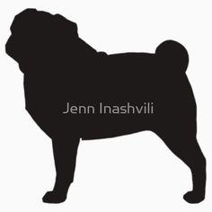 CHOW CHOW DOG SILHOUETTE Novelty Car//Van//Window//Bumper//Home//House Sticker