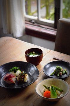 出張茶寮 夕顔 「春の料理をつつむうつわ」のお知らせ