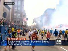 Explosions on Boylston Street