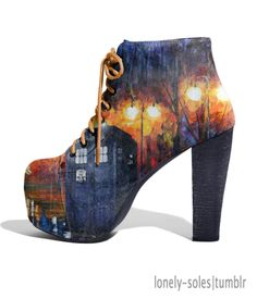 Sweet Lord, this is the COOLEST shoe I have ever seen!!!