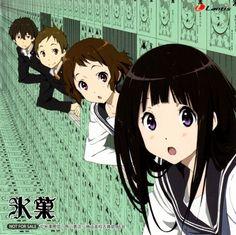 Oreki Hōtarō, Fukube Satoshi,Ibara Mayaka, Chitanda Eru -    -Hyouka wallpaper