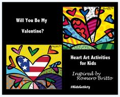 The Good Long Road: Kids Get Arty: Romero Britto (and other artists)
