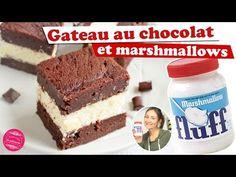 Recette de gâteau fondant au chocolat et au fluff, la pâte de chamallow !
