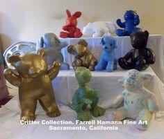 Critter Collection (so far) Farrell Hamann Fine Art. Sacramento/Montecito, CA Ten Pieces