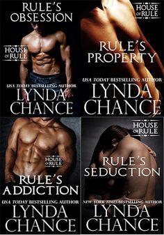Românticos e Eróticos Book: Lynda Chance - The House of Rule #1 a #3