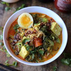Vegetarian curry (Thai recipe)