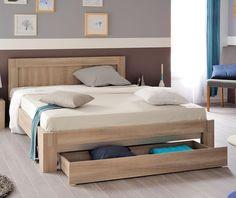 Wood Bed Design, Bedroom Bed Design, Sofa Design, Lit 2 Places Ikea, Cabin Furniture, Bedroom Furniture, Single Beds With Storage, Solid Wood Dining Set, Diy Bed Frame