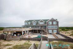 Outer Banks Real Wedding by Kristi Midgette Photography at Wild Horse in Carova   Coordinator: Glam & Lace #beachwedding #destinationwedding #SouthernWedding