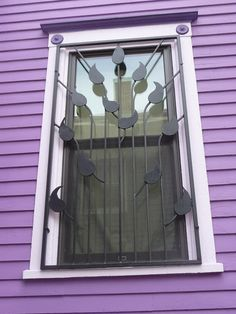 window on Lawrence Street in Cambridgeport