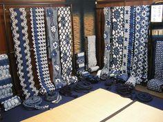 絞り浴衣 - ■有松絞り 浴衣 藍染絞り 井桁屋 (いげたや)■1790年寛政2年創業