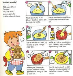 Pannenkoeken maken met kleuters