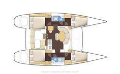 Lagoon 380 sail boat