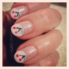 The Stylemaker: Carolyn Braden: Bowl Full of Cherries #nailart