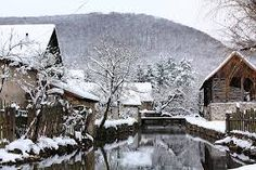 The valley of hidden treasures - Josvafo, Hungary The ancient and picturesque village of Jósvafő is of historic importance, but also has a fairy tale ambiance. Hidden Treasures, Winter Pictures, My Land, Hungary, Budapest, To Go, Explore, Landscape, Architecture