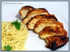 Peitos de Frango Agridoce | As Receitas da Selene