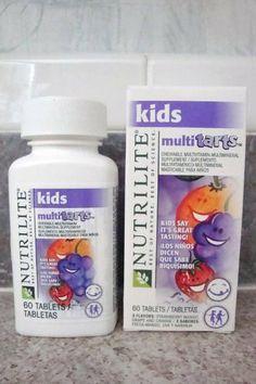 NUTRILITE® Kids MultiTarts Chewable Multivitamin/Multimineral by Nutrilite Amway.com/tdpulley