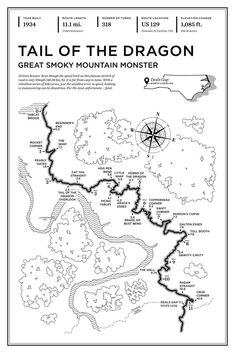 Tail of the Dragon Art Print – Track Sculptures Motogp, Mountain Monsters, Road Bike Women, Big Muscles, Dragon Art, Bike Accessories, Road Racing, Fast Cars, Custom Cars