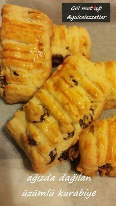 ağızda dağılan üzümlü kurabiye,kurabiye tarifleri,gulcelezzetler