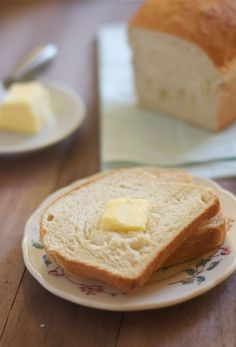 Basic White Bread %The Baker Chick