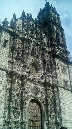 Iglesia de Tepozotlan estilo barroco
