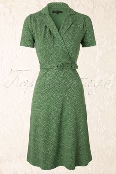 King Louie - Polo Cross Glimmer Dress in Green
