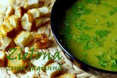 Raz Dwa Trzy Kuchnia: Zielona zupa bagienna, czyli fasolka i groszek w roli głównej