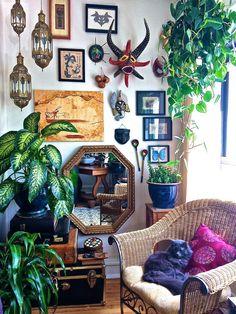 Cat's Flat - The Living Room (Northwest Corner)