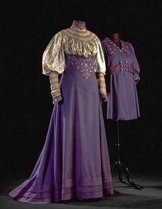 Walking Dress Liberty & Co. 1906-1907 Gemeentemuseum Den Haag