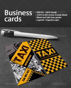Modern qr code cab taxi driver business card small business flyers taxi colourmoves