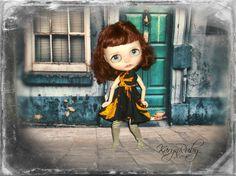 Blythe   Retro  Inspired Sundress      by KarynRuby by KarynRuby