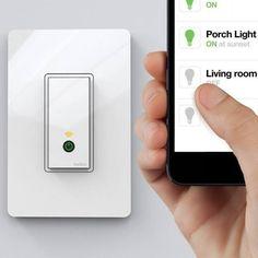 WeMo Wi-Fi Light Switch by Belkin - $50