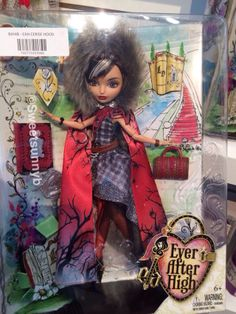 Cerise Hood Legacy Day Ever After High Toy Fair New York EAH Mattel-- her cape looks a lot like the other one....