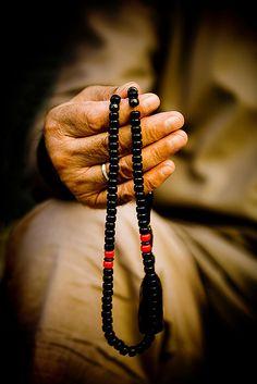 LOVE~ DEVOTION   Syrian Man Holding Islamic Prayer Beads, Aleppo, Syria by Eric Lafforgue