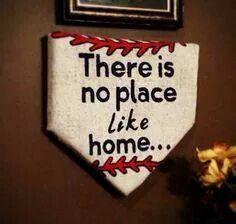 Home plate baseball room idea