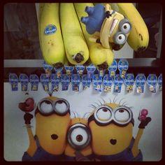 Minions going bananas for ice cream #StickAMinionOnIt #minions #despicableme