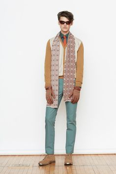 Orley Fall 2014 Menswear Collection Slideshow on Style.com