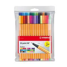 Fineliner Set, Neon Colors, Colours, Vibrant Colors, Rainbow Colors, Best Highlighter, Fine Point Pens, Stabilo Boss, Playmobil